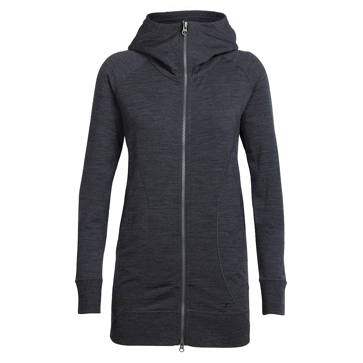 79d316e5667 Icebreaker Women's Dia RealFLEECE ™ Long Hooded Jacket