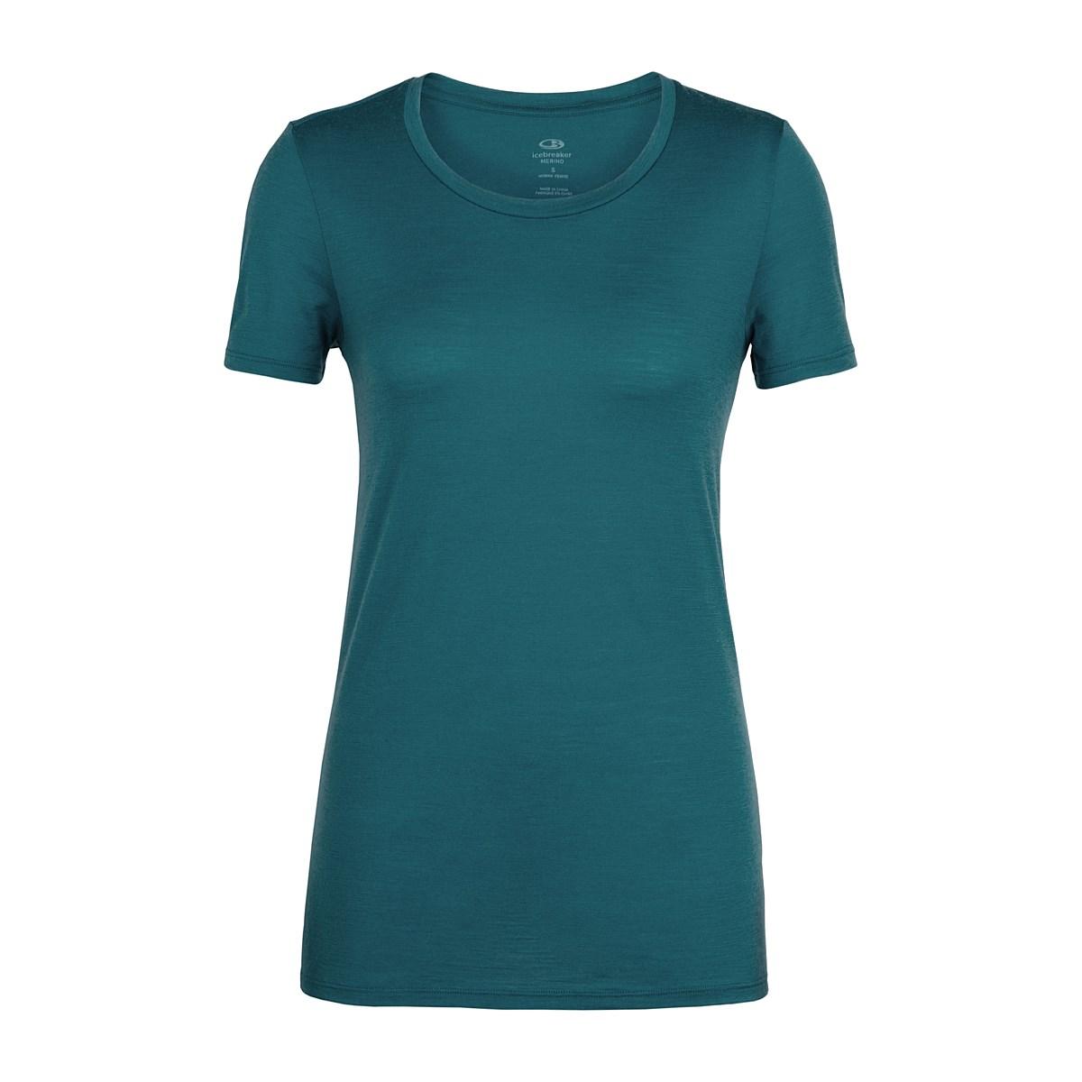 225a62496 Womens - Icebreaker Women's Tech Lite Short Sleeve Low Crewe