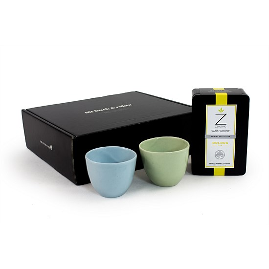 "Zealong ""Sit Back and Relax"" Tea set"