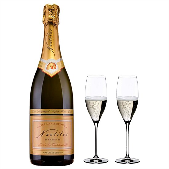 Sparkling Wine and Prestige Cuvee flutes