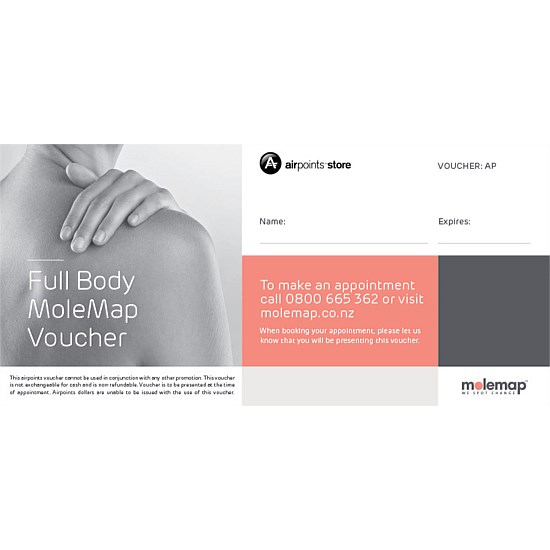 Full Body MoleMap Gift Voucher