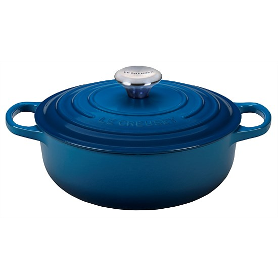 Cast Iron Low Round Casserole  Limited edition