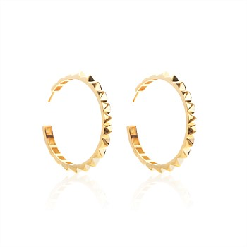 The Perfect Party Hoop Earrings