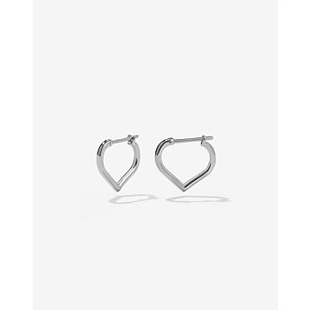 Love Hoops Small Sterling Silver
