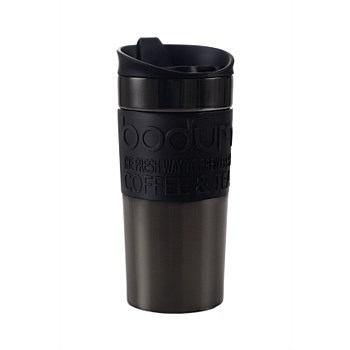 Gun Metal Vacuum Travel Mug Small