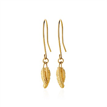 Duo Miromiro Petite Earrings 9CT Yellow Gold