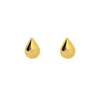 Droplet Studs 9CT Yellow Gold