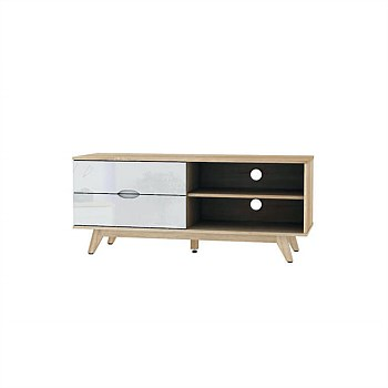 1200mm TV/AV Cabinet - White