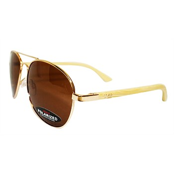 Aviators Plain Polarised Sunnies