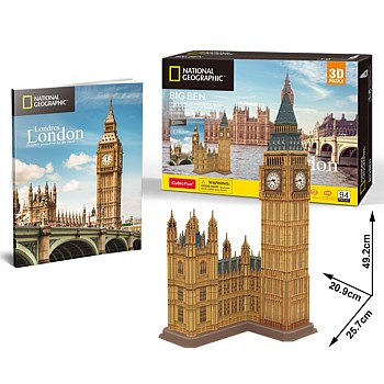 National Geographic City Traveller -London Big Ben