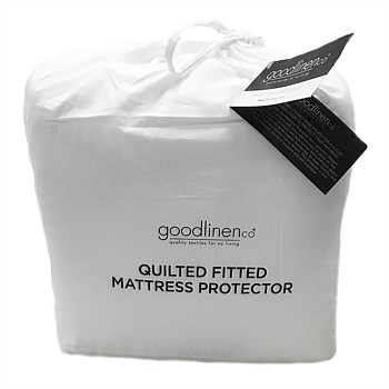 50/50 Poly/Cotton Quilted Fitted Mattress Protector