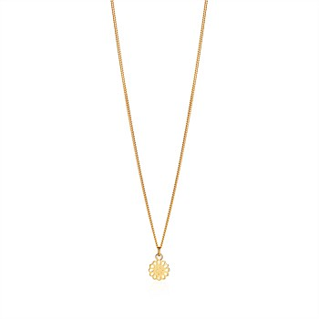 Lotus Petite Pendant 9CT Yellow Gold