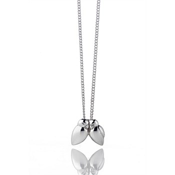 Silver Me &You Lovebirds Pendant