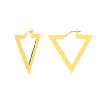 Triangle Shoop 14CT Gold Plate