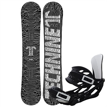 ICON Snowboard Package with ICON Binding - Large