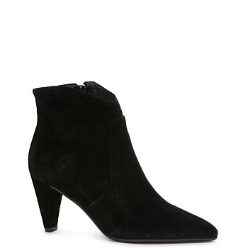 Vanessa Boot - Black Suede