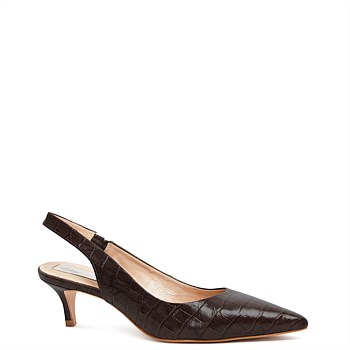 Harry Heel - Black Croc