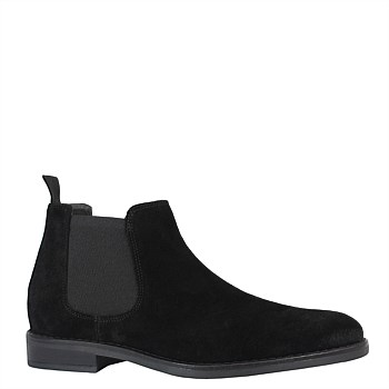 Mr Taylor Boot - Black Suede