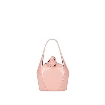 Top Knot Mini Patent - Mushy Blush