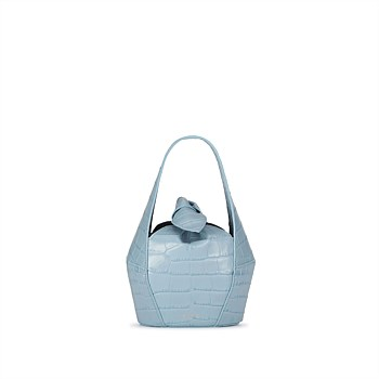 Top Knot Mini Croc - Periwinkle