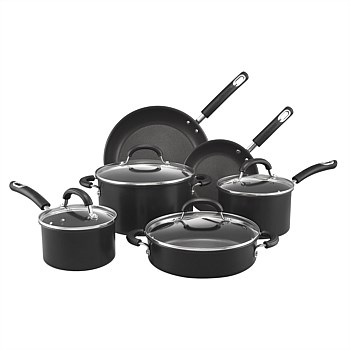 Hard Anodised 6Pc Cookware Set