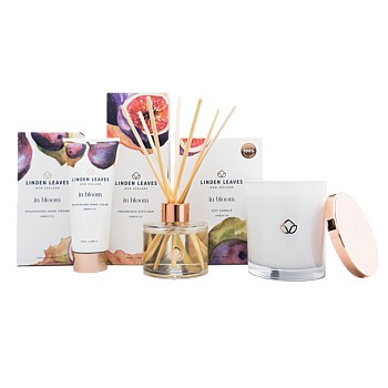 Amber Fig Soy Candle, Diffuser and Hand Cream