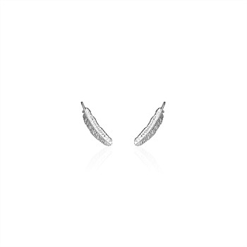 Miromiro Feather Studs