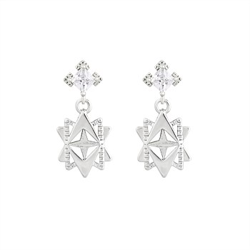 Baroque Star Earrings
