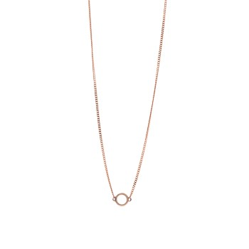 Circle Pendant Rose Gold