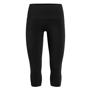 Womens Motion Seamless 3Q Tights