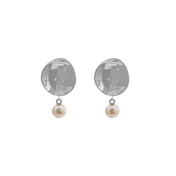 Perle Reflection Pearl Drop Earrings