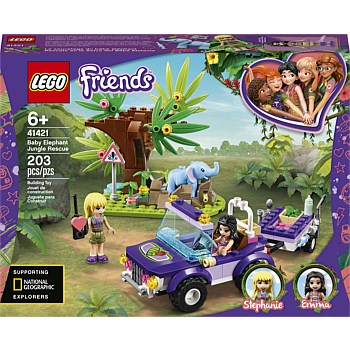 Friends Baby Elephant Jungle Rescue V29