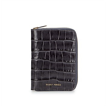 Passport Wallet Croc