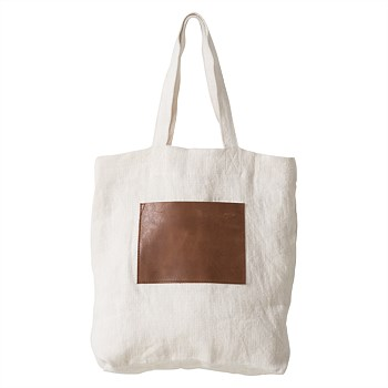 Byron Carryall Tote with Leather Pocket