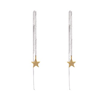 Stargazers Thread Earrings