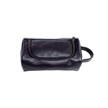 The Ralph: Men's Leather Toiletry Bag