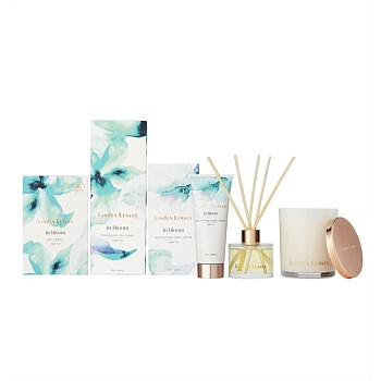 Aqua Lily Candle, Diffuser and Hand Cream Gift Collection