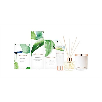Green Verbena Candle, Diffuser and Hand Cream Gift Collection