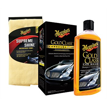 Gold Class Wash and Wax 3-piece Kit