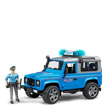 Land Rover Police Vehicle