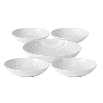 Gordon Ramsay Maze Pasta Bowl 5 Piece Set