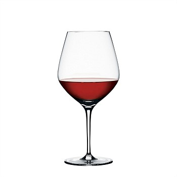 Authentis Burgundy Glass - set of 4