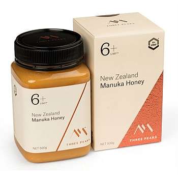 New Zealand Manuka Honey, UMF 6+