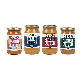 Assorted Savoury Nut Butters with bonus key ring