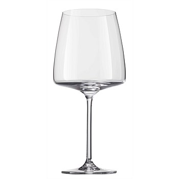 Wine Glasses Set of 6 - Burgundy