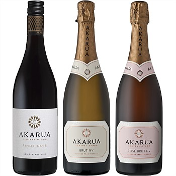 Akarua Three Bottle Mixed Case