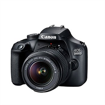 EOS 3000D DSLR Camera Kit
