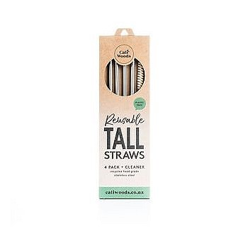 Reusable Tall Straws