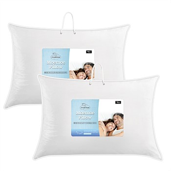 Moemoe New Zealand Made Feather & Down Standard Pillows
