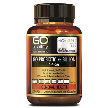 Probiotic 75 Billion HOWARU Restore(Shelf Stable)
